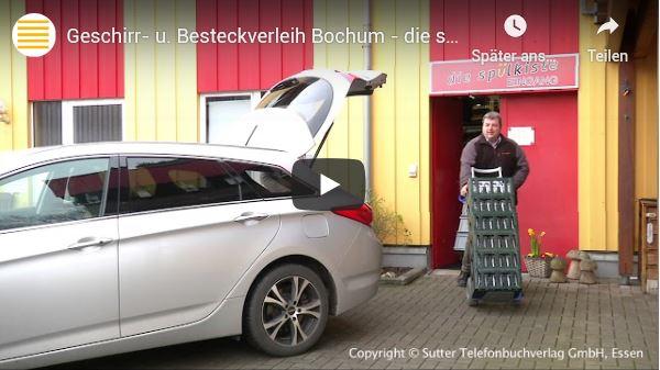 Geschirr- u. Besteckverleih Bochum - jetzt auf YOUTUBE